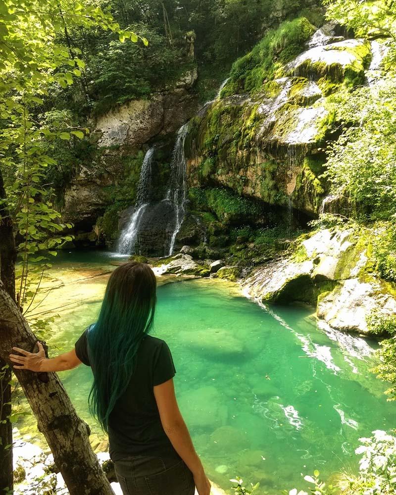 soca valley cachoeira virje em bovec