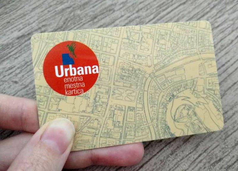 transporte em liubliana cartao de onibus urbana