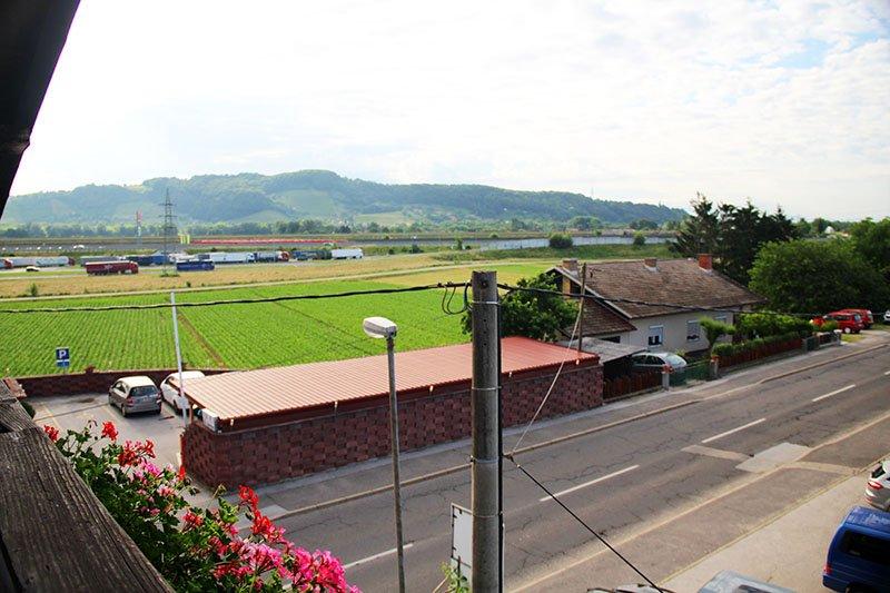 vista da varanda hotel maribor hisa budja