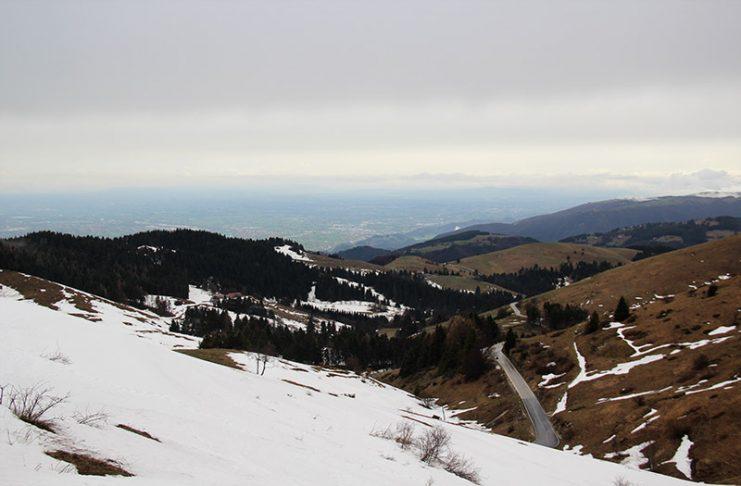 vista do monte grappa estrada veneto