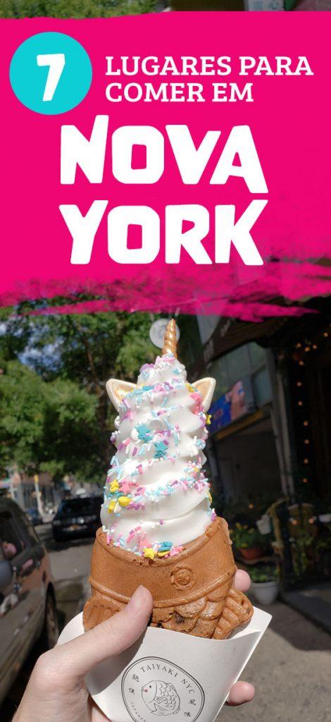 7 Lugares para comer em Nova York, sorvete de unicórnio
