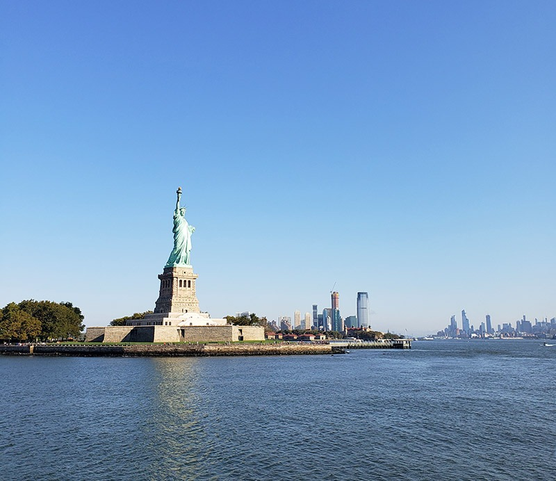 como chegar na estatua da liberdade em nova york dicas