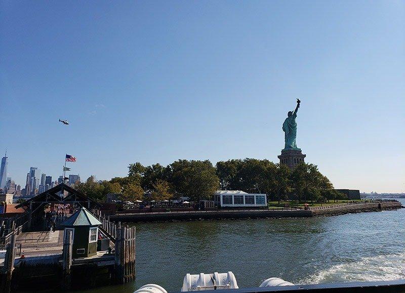 dicas para visitar a estatua da liberdade balsa