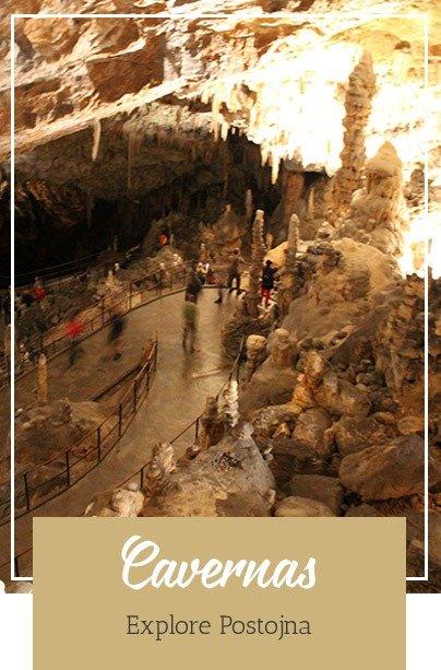 Eslovênia - Cavernas Postojna