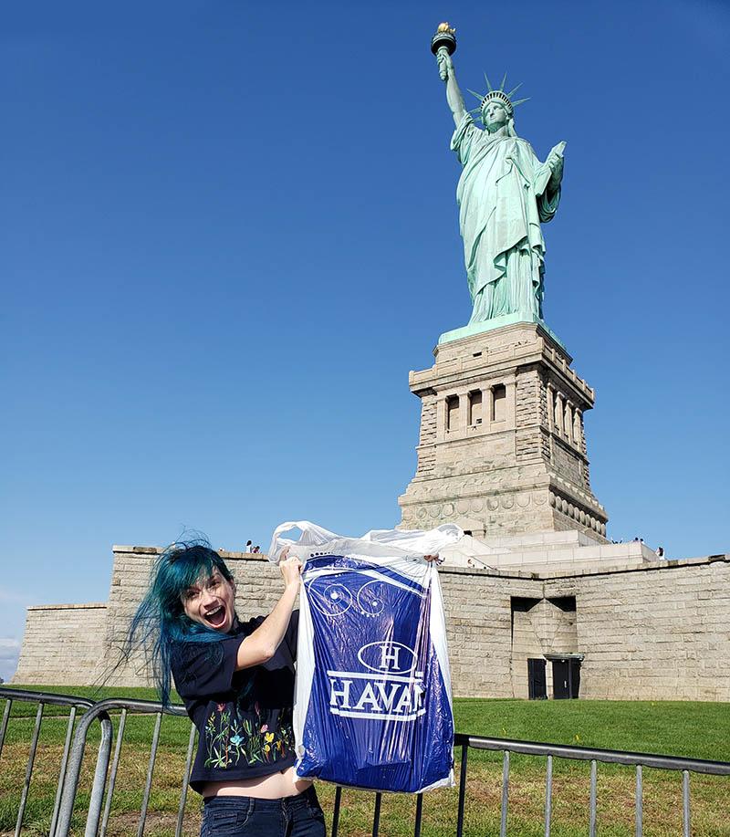 estatua da liberdade havan nova york