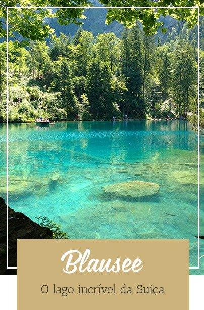 Suíça Lago Blausee