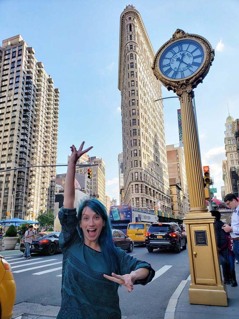 melhores spots para fotos em nova york flatiron