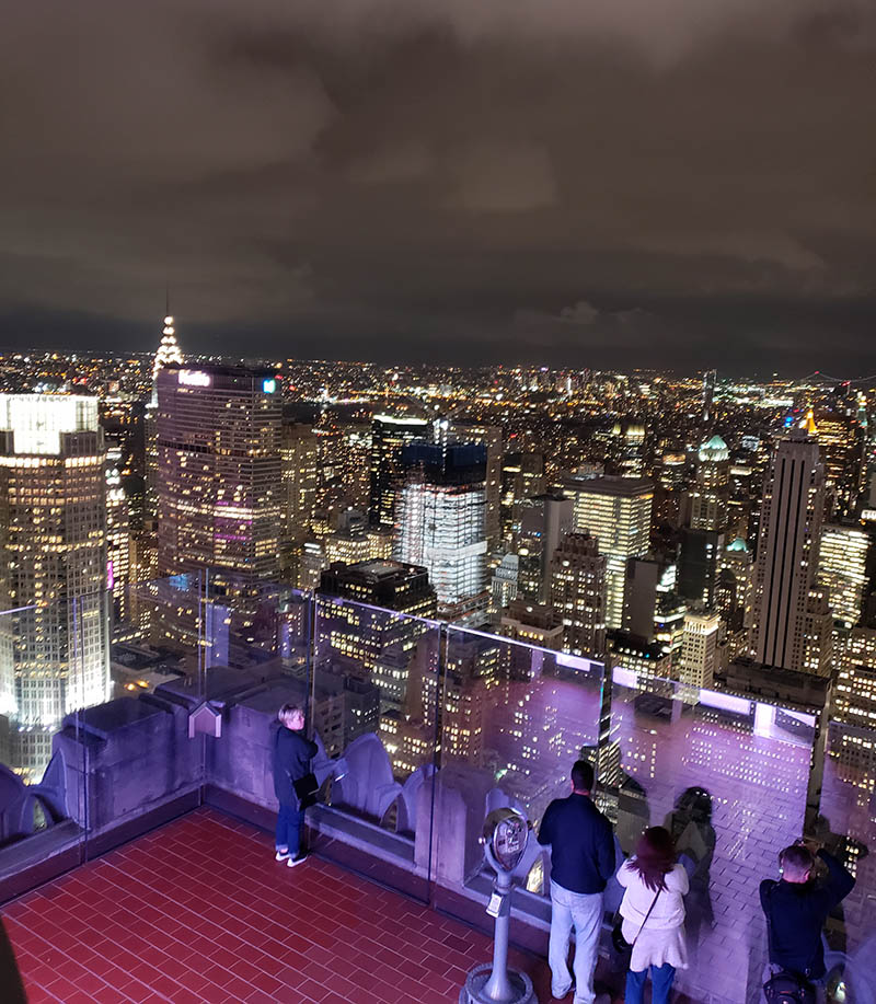 observatorio top of the rock nova york