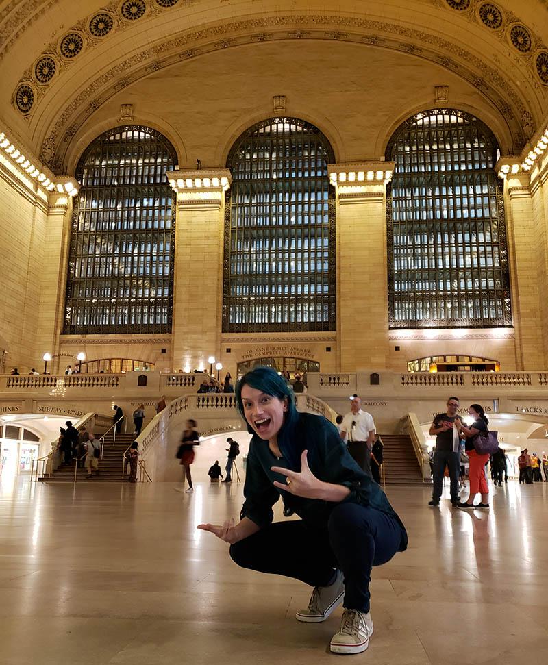 onde tirar fotos legais em nova york grand central station