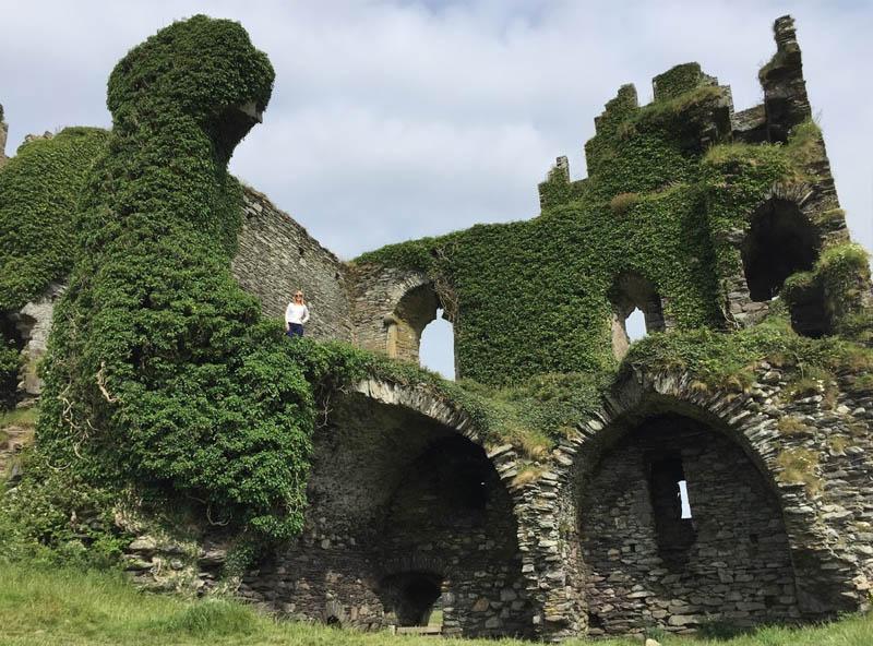 ruinas castelo de Ballycarbery Cahersiveen