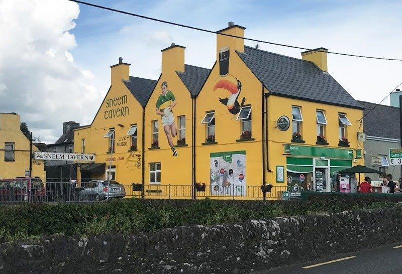 taverna sneen roteiro na irlanda