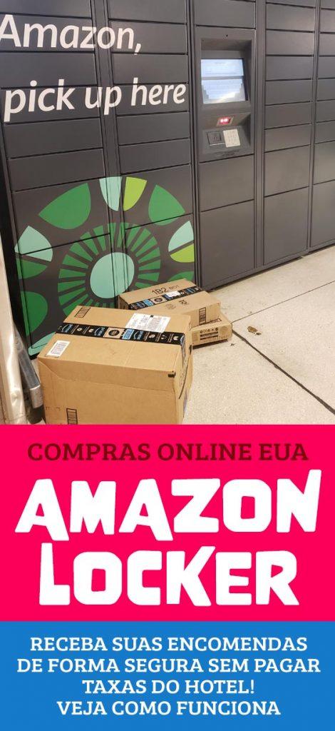 Compras nos Estados Unidos, como funciona o Amazon locker