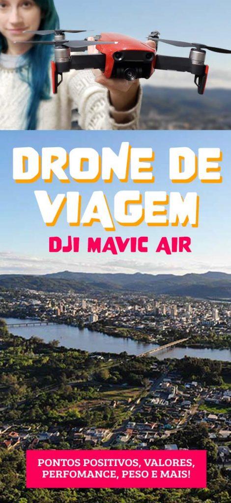 Drone DJI MAVIC AIR, review, drone para viagem