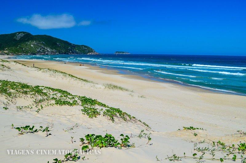 Praia do Santinho em florianopolis