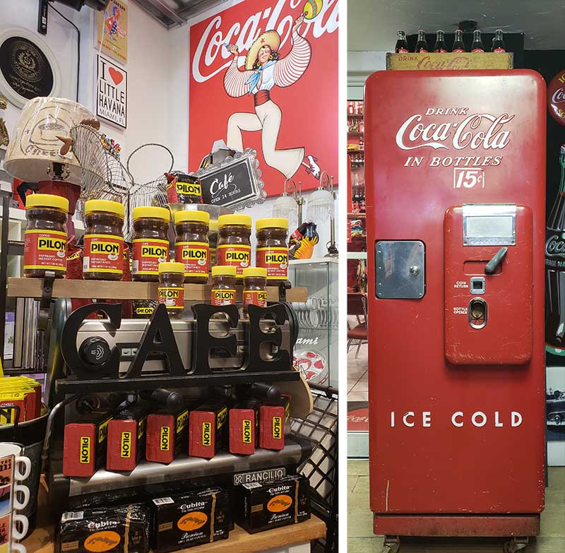 cafe geladeira coca cola miami little havama