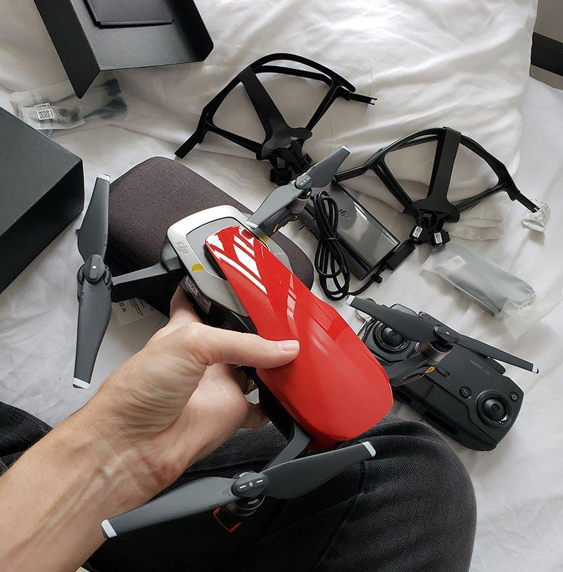 drone dji mavic air kit