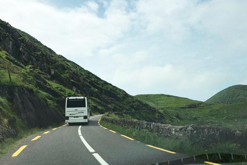 estradas na irlanda dicas ring of kerry