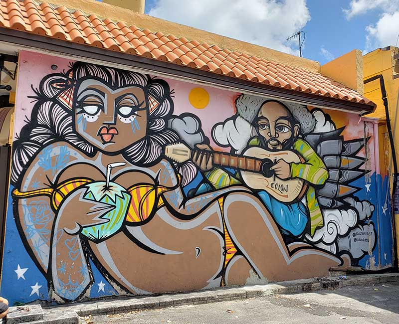 grafitti em little havana miami