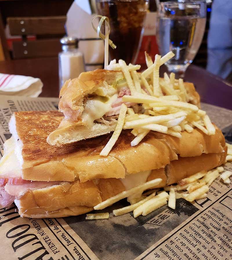 sanduiche classico cubano little havana miami