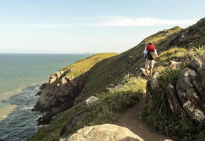 trilha em florianopolis natureza