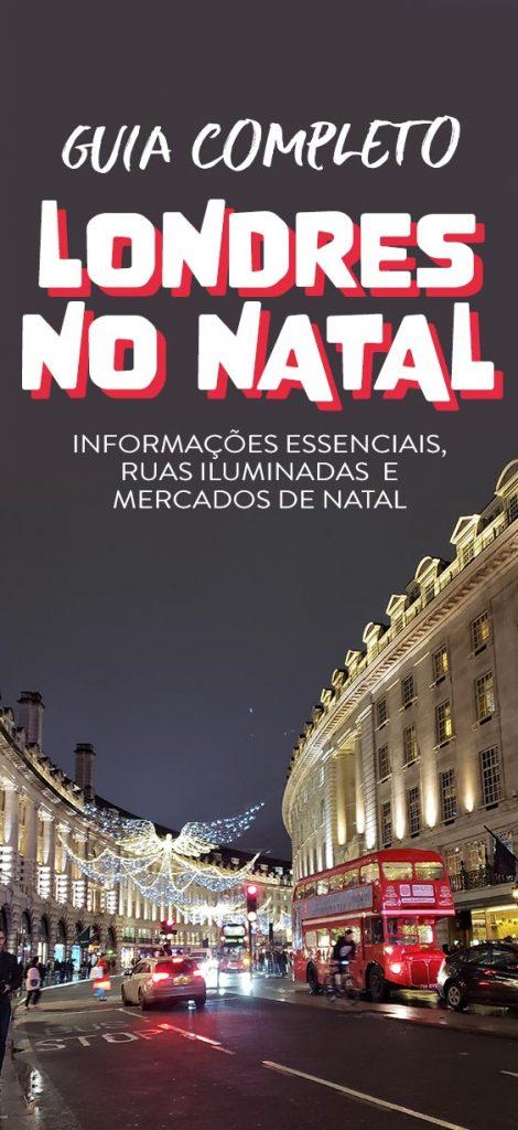 Guia de Natal em Londres, dicas, mercados de natal e ruas iluminadas