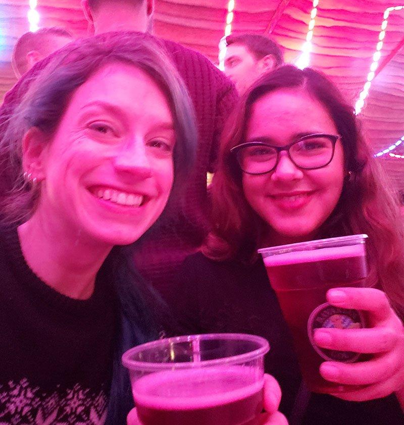 cerveja cidra festival de natal winter wonderland natal