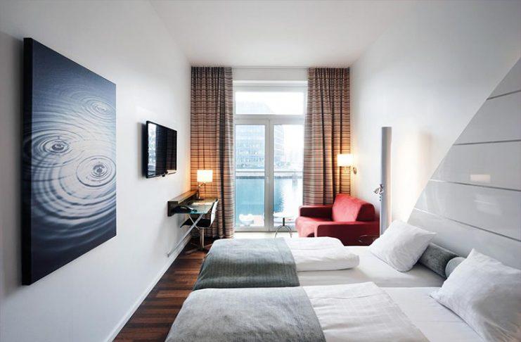 guia de hoteis em copenhagen Copenhagen Island Hotel