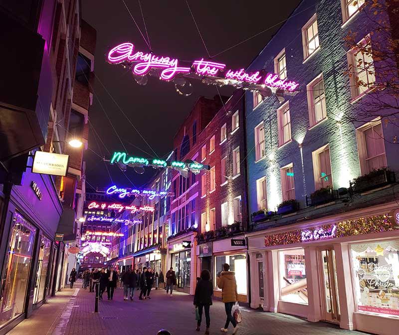 homenagem queen carnaby street londres