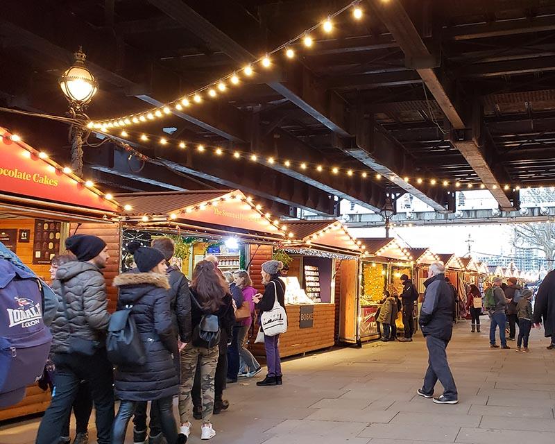 mercados de natal em londres dicas