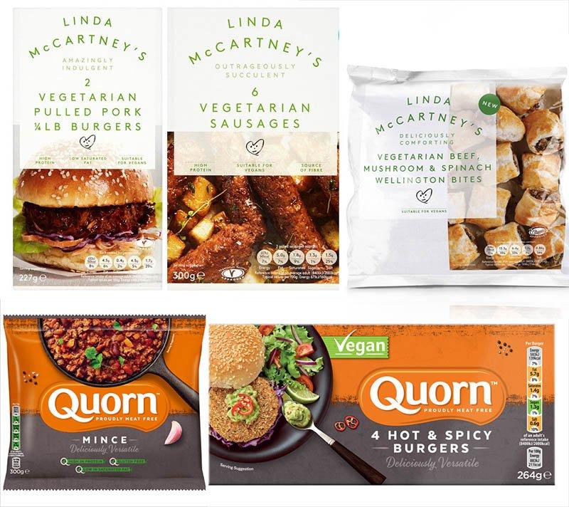 produtos veganos na inglaterra quorn