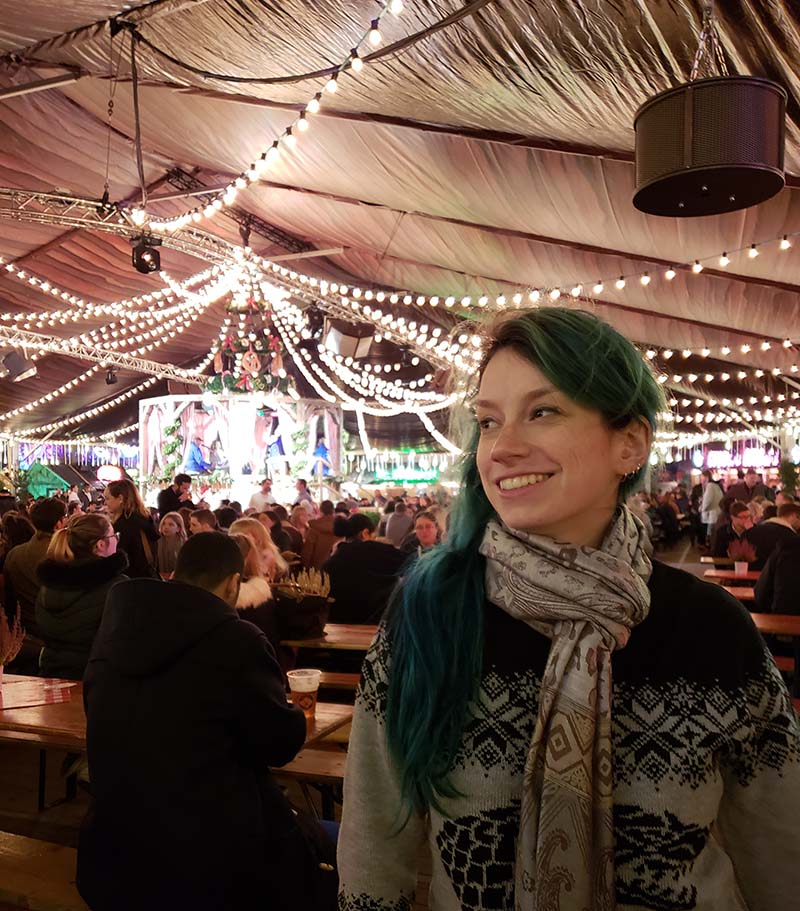 tenda winter wonderland em londres