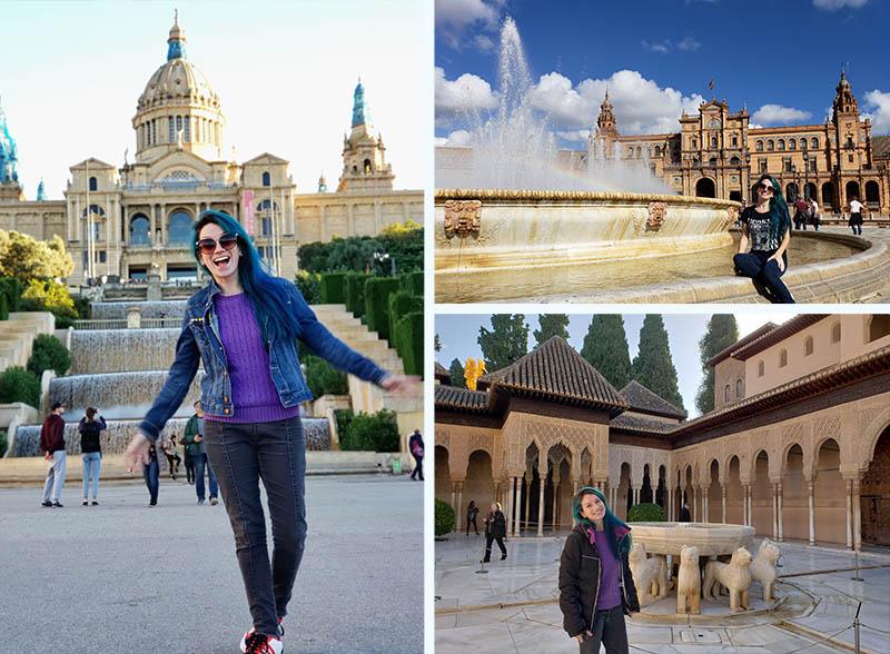 viagem na espanha em novembro retrospectiva 2018