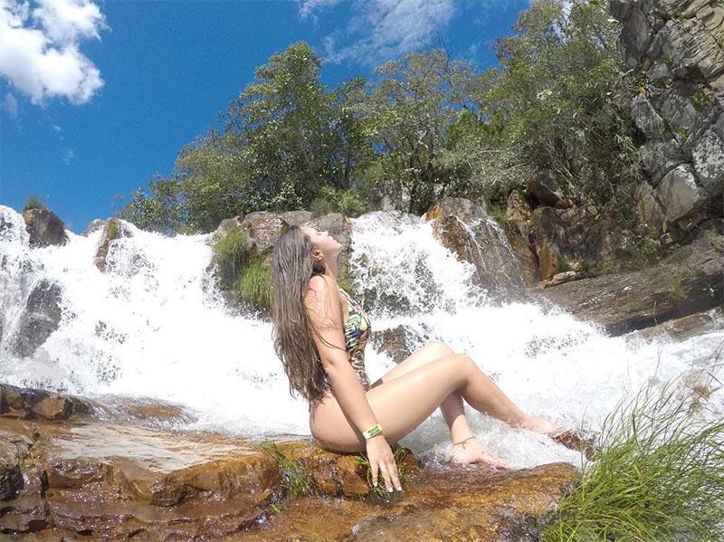 Cachoeira Almécegas II chapada dos veadeiros