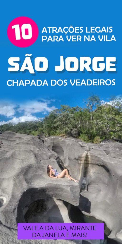 O que fazer na Vila São Jorge na Chapada dos Veadeiros, atrações e dicas