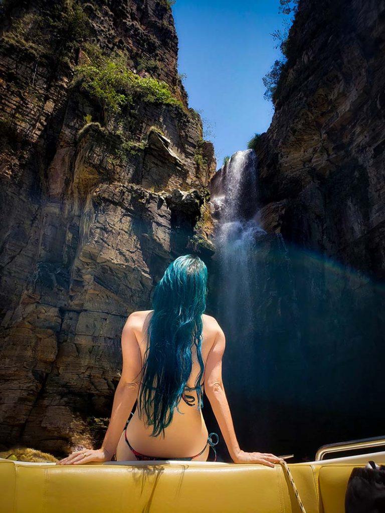 cachoeira canions de furnas capitolio