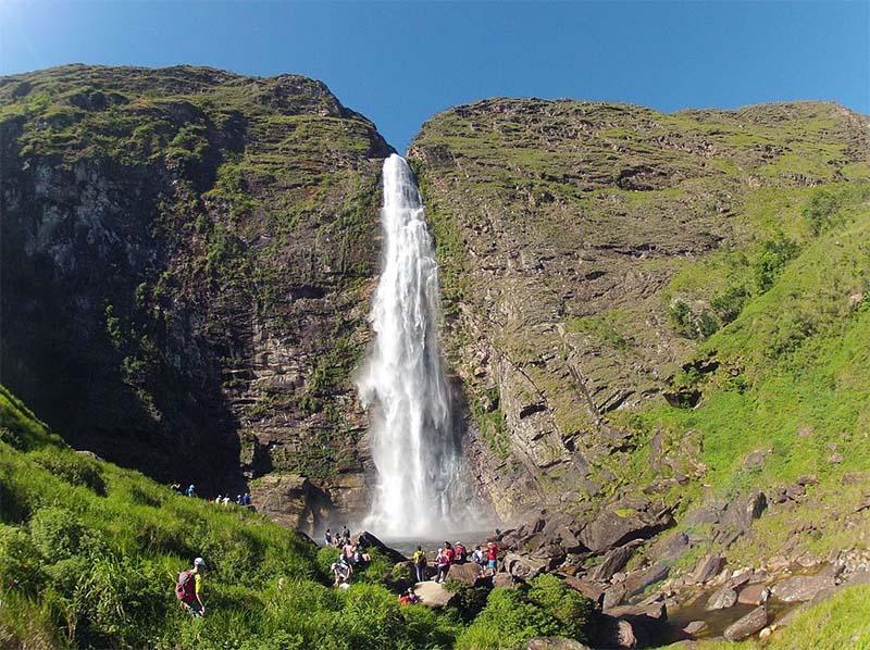 cachoeira casca danta serra da canastra