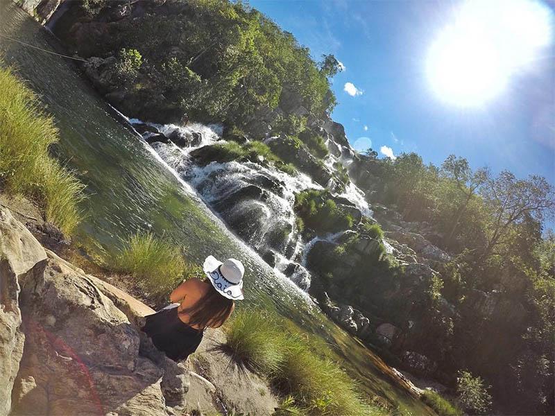 cachoeira da capivara roteiro na chapada