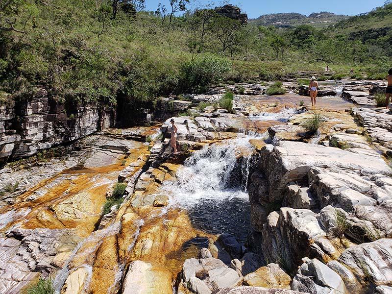 cachoeira da pedra ancorada capitolio