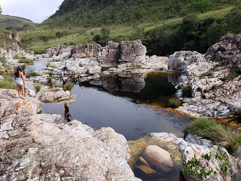 cachoeira do sumidouro em capitolio