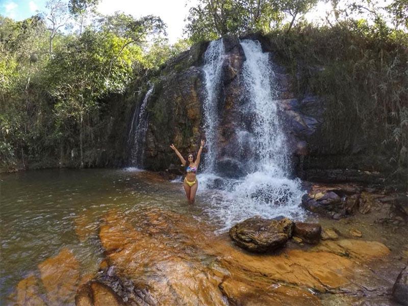 cachoeiras na chapada dos veadeiros cristais