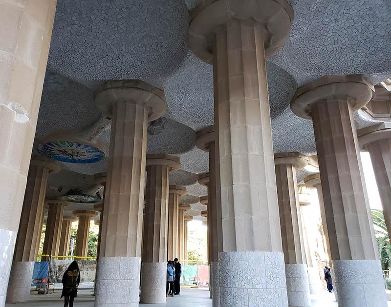 colunas sala da hipostila