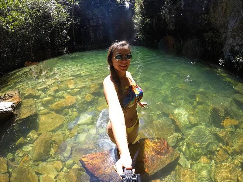 dicas de roteiro na chapada dos veadeiros cachoeira loquinhas