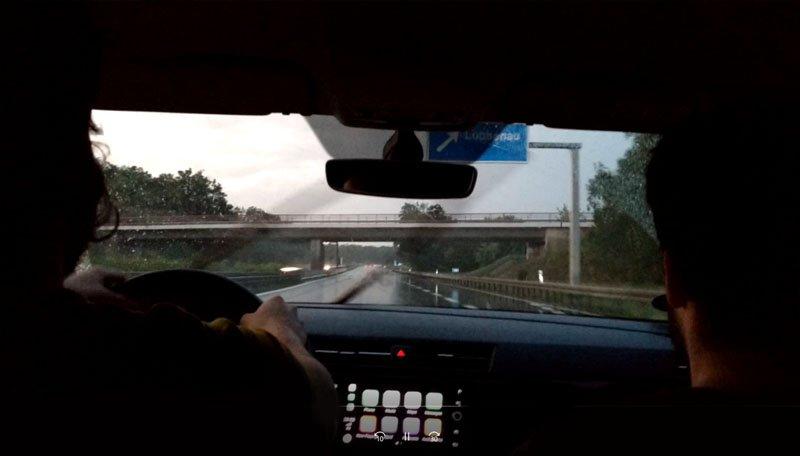 dirigir na alemanha autobahn