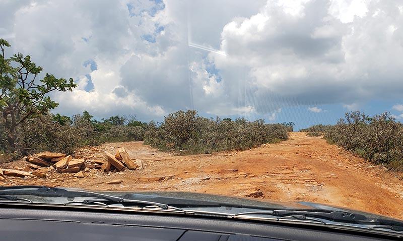 estradas de terra em capitolio carro 4x4