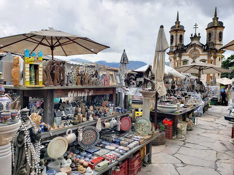 feira de artesanato em ouro preto pedra sabão