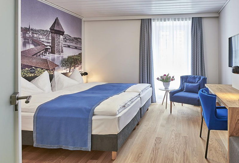 hoteis em lucerna Hotel Central Luzern