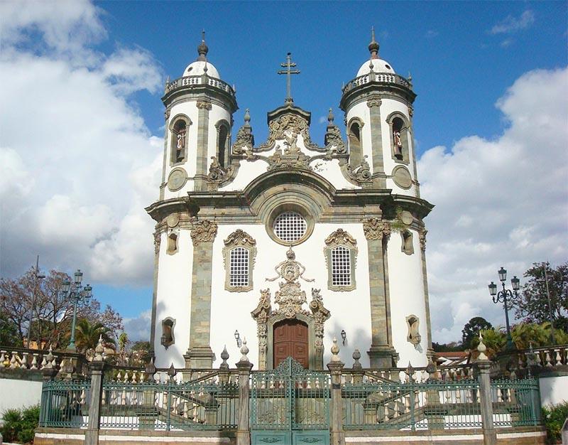 igreja sao francisco de assis em sao joao del rei