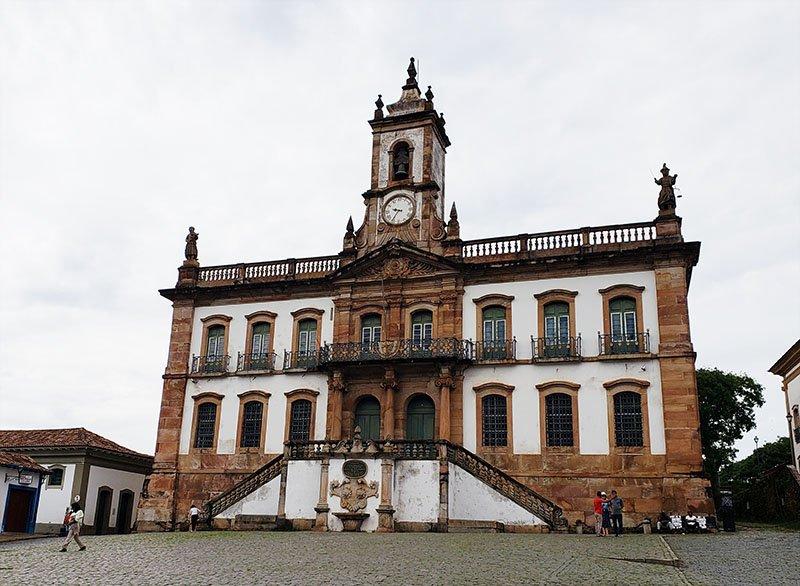 museu da inconfidencia em ouro preto edificio