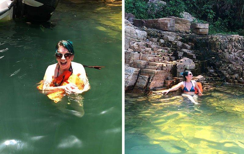 nadar lago de furnas capitolio