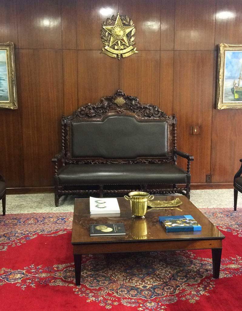 sala de reuniao presidente palacio congresso nacional